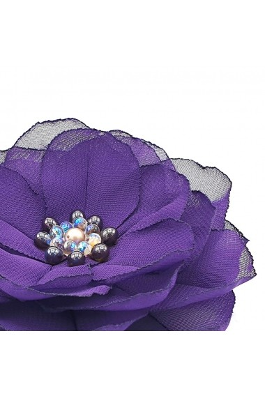 Agrafa par floare Zia Fashion Purple Flower mov
