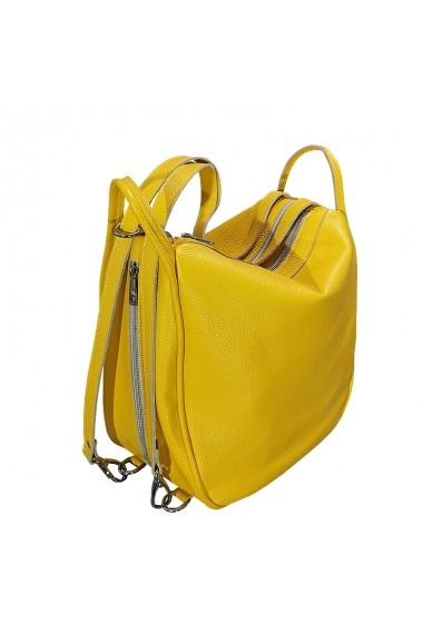 Geanta MCLeather Big Bag Galbena