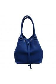 Geanta Mcleather Bucket Bag Bleumarin