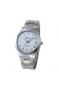 Ceas de dama Geneva CS280 bratara metalica Argintiu