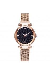 Ceas de dama GENEVA CS1019 Starry Sky Auriu