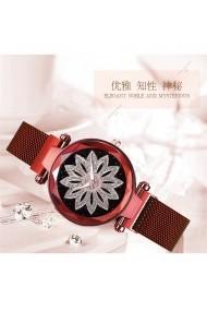Ceas de dama GENEVA CS1028 Starry Sky Rosu