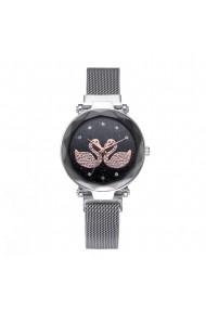 Ceas de dama GENEVA CS1043 Starry Sky Argintiu