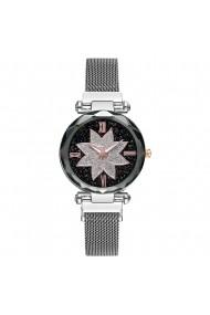 Ceas de dama Geneva CS1107 Starry Sky Argintiu