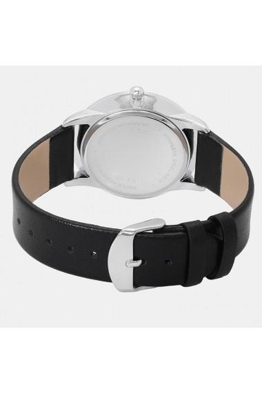 Ceas de dama Geneva CS1126 curea piele Negru