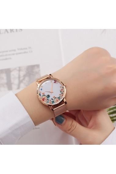 Ceas de dama Geneva CS1180 Roz-auriu
