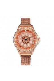 Ceas de dama Geneva CS1127 Roz-auriu