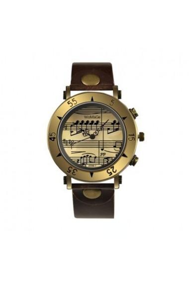 Ceas de dama Retro Vintage CS357 curea piele Maro