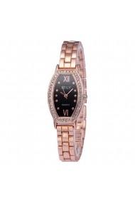 Ceas de dama E-LY CS293 bratara metalica Auriu