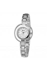 Ceas de dama E-LY CS242 bratara metalica Argintiu