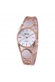 Ceas de dama E-LY cs246 bratara metalica Auriu