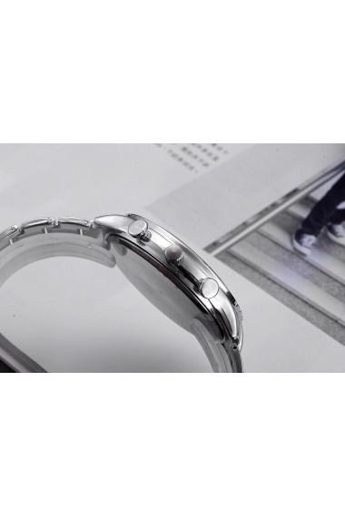 Ceas barbatesc Gescar CS710 bratara metalica Argintiu