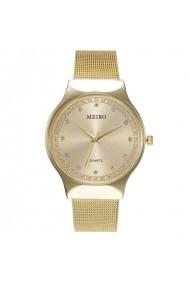 Ceas de dama Meibo CS760 bratara metalica Auriu
