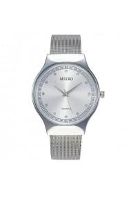 Ceas de dama Meibo CS761 bratara metalica Argintiu