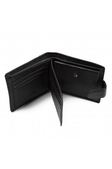 Portofel Bailini Model S&D calitate Premium Negru
