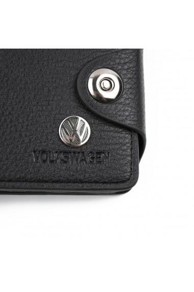 Portofel Bailini calitate Premium model Volkswagen Negru