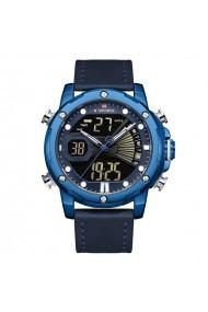 Ceas pentru barbati NAVIFORCE CS1194 curea piele albastru