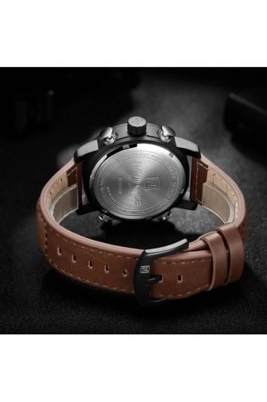 Ceas pentru barbati NAVIFORCE CS1197 curea piele maro