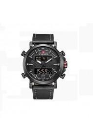 Ceas pentru barbati NAVIFORCE CS1198 curea piele negru
