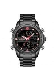 Ceas pentru barbati NAVIFORCE CS1201 bratara metalica negru