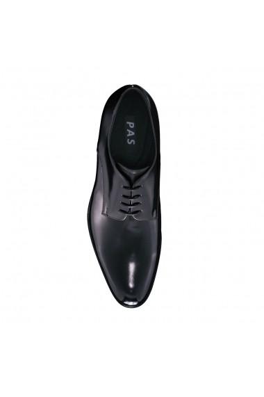 Pantofi din piele Pas 54545456 Negri