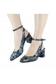Pantofi pumps slingback Donna Mia Multicolor