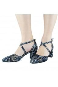 Pantofi pumps cu barete incrucisate Donna Mia Multicolor