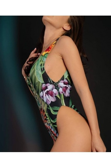 Costum de baie intreg Feeria Bambus Swarowski Crystal Motivate Store Floral