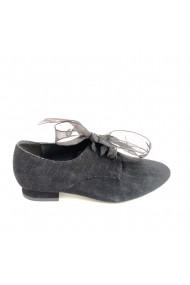 Pantofi oxford Veronesse piele naturala negru