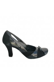 Pantofi cu toc Veronesse piele naturala negru