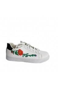 Pantofi sport Veronesse piele ecologica alb
