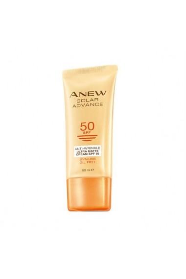 Crema cu efect mat antirid Anew Ultra Matte cu SPF 50