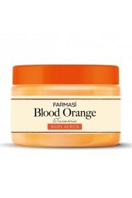 Exfoliant pentru corp Farmasi Bloood Orange and Turmeric Body Scrub