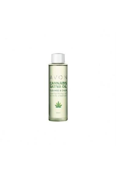 Ulei pentru curatarea tenului cu ulei de Cannabis Sativa