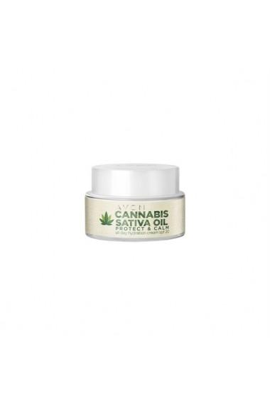 Crema hidratanta cu ulei de Cannabis Sativa