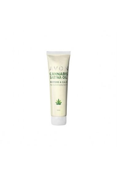 Balsam pentru corp si maini cu ulei de Cannabis Sativa