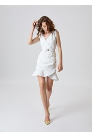 Rochie Alina Cernatescu Tesoro Classic White