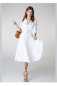 Rochie Alina Cernatescu Sassy Classic White