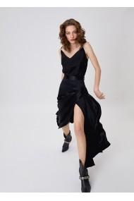 Fusta midi Alina Cernatescu Verona Classic Black