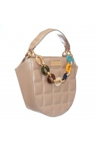Geanta casual Margee Eva Nude Quilted Nude