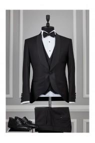 Costum barbat Moda Aliss CCM014 Negru