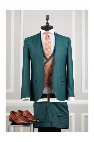 Costum barbat Moda Aliss CCM015 Vernil