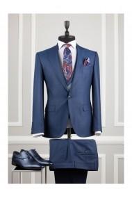 Costum barbat Moda Aliss CCM006 Bleumarin