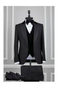Costum barbat Moda Aliss CCM020 Negru