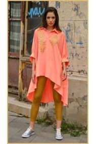 Camasa Orange Special Boho Chic
