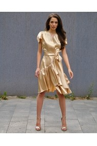 Rochie scurta Real Gold Royal Day