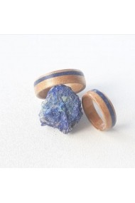 Inel Opaline Crafts lemn de cires si Azurit