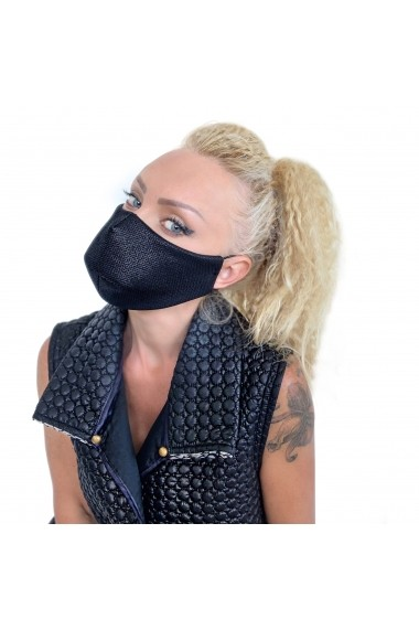 Fashion Mask din material lucios