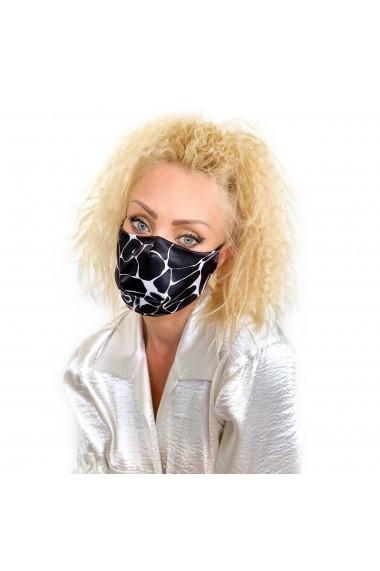 Fashion Mask din satin animal print