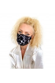 Fashion Mask din satin animal print